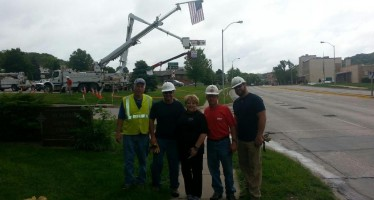 Council Bluffs IBEW 499 Lineman Honor Detective Kerrie Orozco